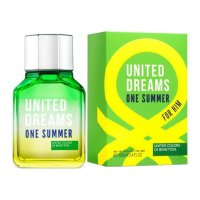 Benetton United Dreams One Summer For Men - بنتون یونایتد دریمز وان سامر  -  - 2