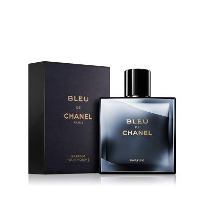 عکس دوم عطر بلو شانل پرفوم 100 میل - تصویر دوم عطر Bleu de Chanel PARFUM 100ml