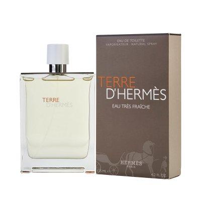عکس دوم عطر تق د هرمس او فرش تقس 125 میل - تصویر دوم عطر terre d`Hermes Eau Tres Fraiche  125ml