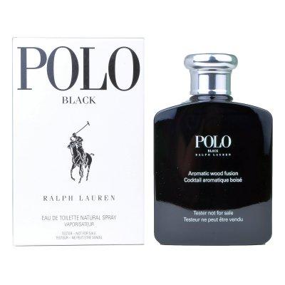 عکس دوم عطر پولو بلک (تستر) 100 میل - تصویر دوم عطر Polo Black TESTER 100ml